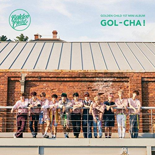 Golden Child - [Gol-Cha!] 1st Mini Album CD+120p Booklet+2p Photocard+1p Frame SEALED