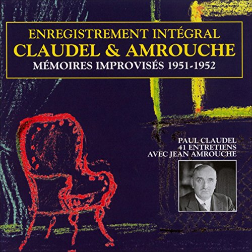 Mémoires improvisés 1951-1952 audiobook cover art