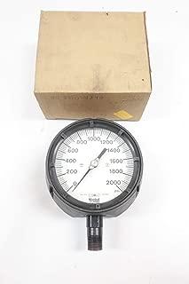 Marshall Town 89771 Pressure Gauge 0-2000PSI 1/2IN NPT