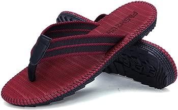 Asunflower Unisex Flip Flops, EVA Rubble Sole Thongs Sandals Non-Slip Sport Sandals Summer Beach Y-Shaped Slippers