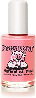 Piggy Paint 100% Non-toxic Girls Nail Polish - Safe, Chemical Free Low Odor for Kids, Angel Kisses