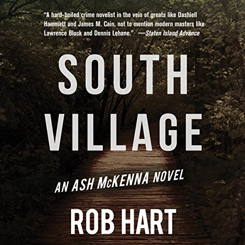South Village audiobook cover art