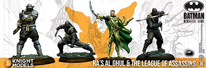 Knight Models Batman Miniature Game Ras Al Ghul & The League of Assassins (2nd Edition) (Resin)