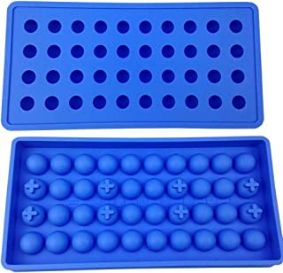 Mydio 40 Tray Mini Ice Ball Molds DIY Molds Tool for Candy pudding jelly milk juice Chocolate mold or Cocktails & whiskey ...