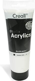 American Educational Products A-33681 Creall Studio Acrylics Tube, 250 Ml, 81 White