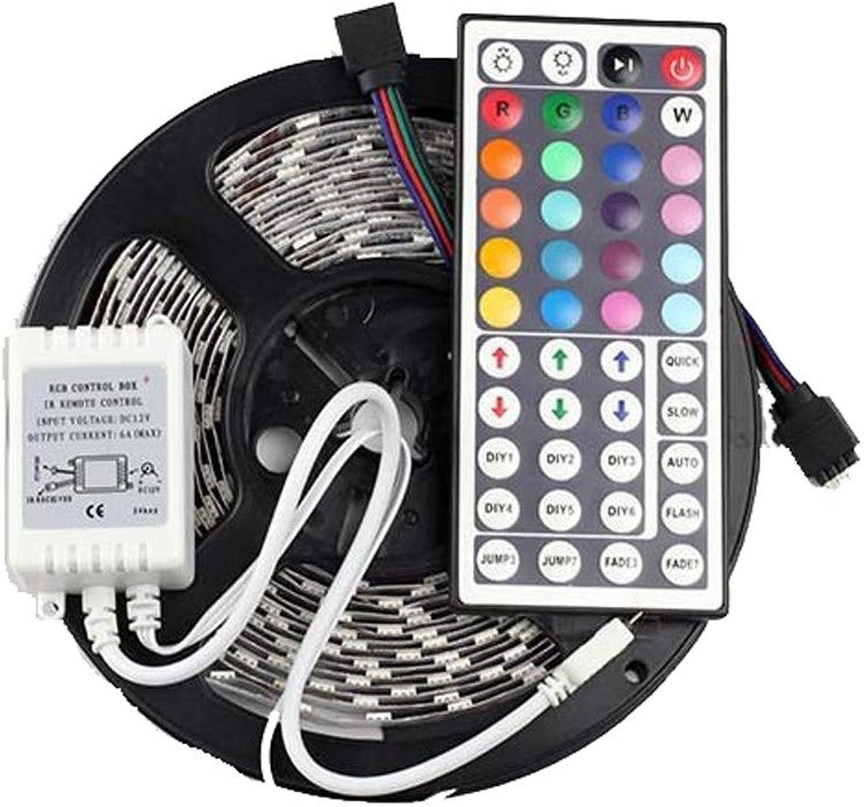 CONRAL 2er Pack 10m   32ft LED-Beleuchtungsstreifen, 7 Farben, die den Lichtstreifen 300LEDs mit Fernbedienung, 5050 RGB Waterproof Flexible Strip Lights, für Party Festival Decoration, ndern