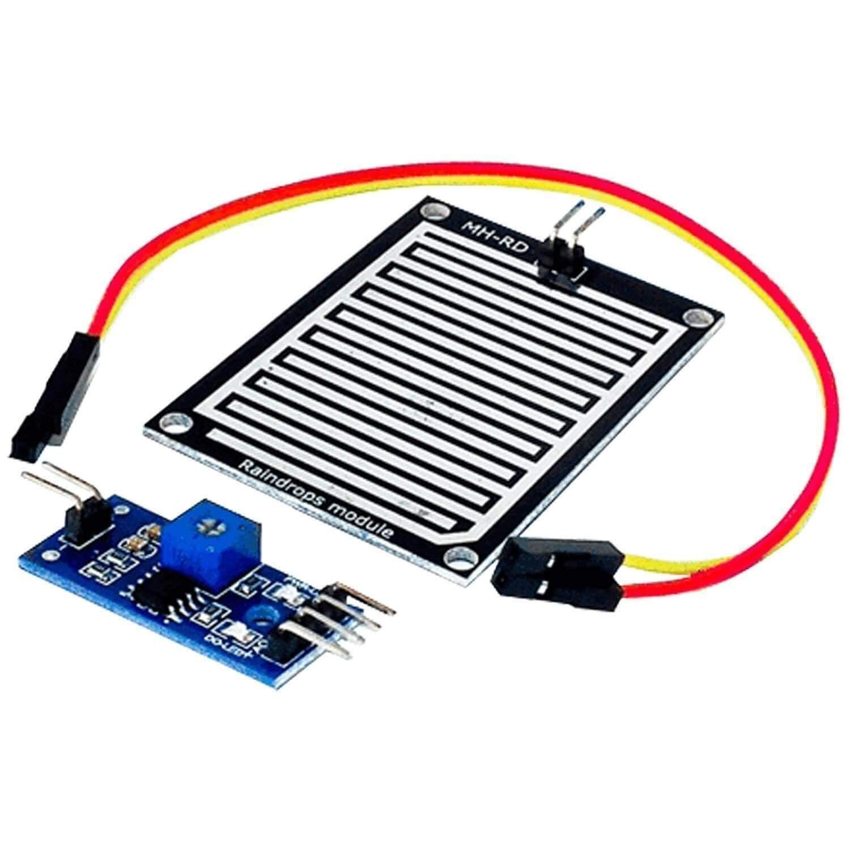 Azdelivery Regentropfen Regen Sensor Modul Kompatibel Mit Arduino Inklusive E Book Gewerbe Industrie Wissenschaft