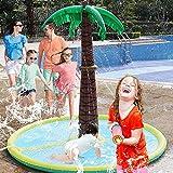 【Design unico】: l'enorme ugello del cortile della palma è alto 59 pollici, adatto a bambini e adulti. L'albero dell'irrigatore è realizzato in materiale PVC spesso 0,25 mm, resistente e durevole, con una buona elasticità. 【Grandi dimensioni per più g...