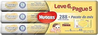 Lenços Umedecidos Huggies Pome, Pacote de 48 toalhas, 6 Pactoes