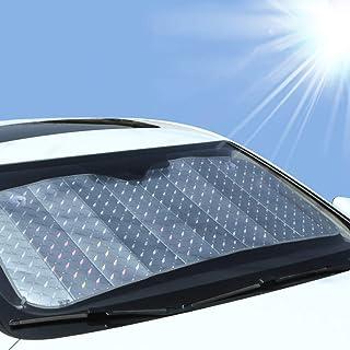 NAttnJf Faltbare Auto frontscheibe innen Sonnenschutz verdicken Laser Anti uv hitzebeständige Abdeckung Schutz