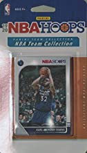 Minnesota Timberwolves 2019 2020 Hoops Basketball Factory Sealed 8 Card Team Set with Karl Anthony Towns and Andrew Wiggins Plus
