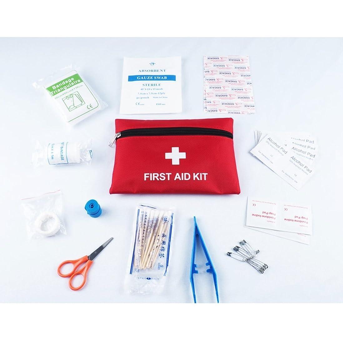 影響朝優先権Kayalu 携帯用救急箱 緊急応急 防災 ケア ファーストエイドキット 応急処置 13種類63セット(1個セット)