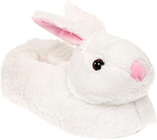 Silver Lilly Classic Bunny Slippers - Plush Animal Slippers