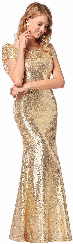 DEED Dress Women 'S HighGrade Sequined Dress Dress