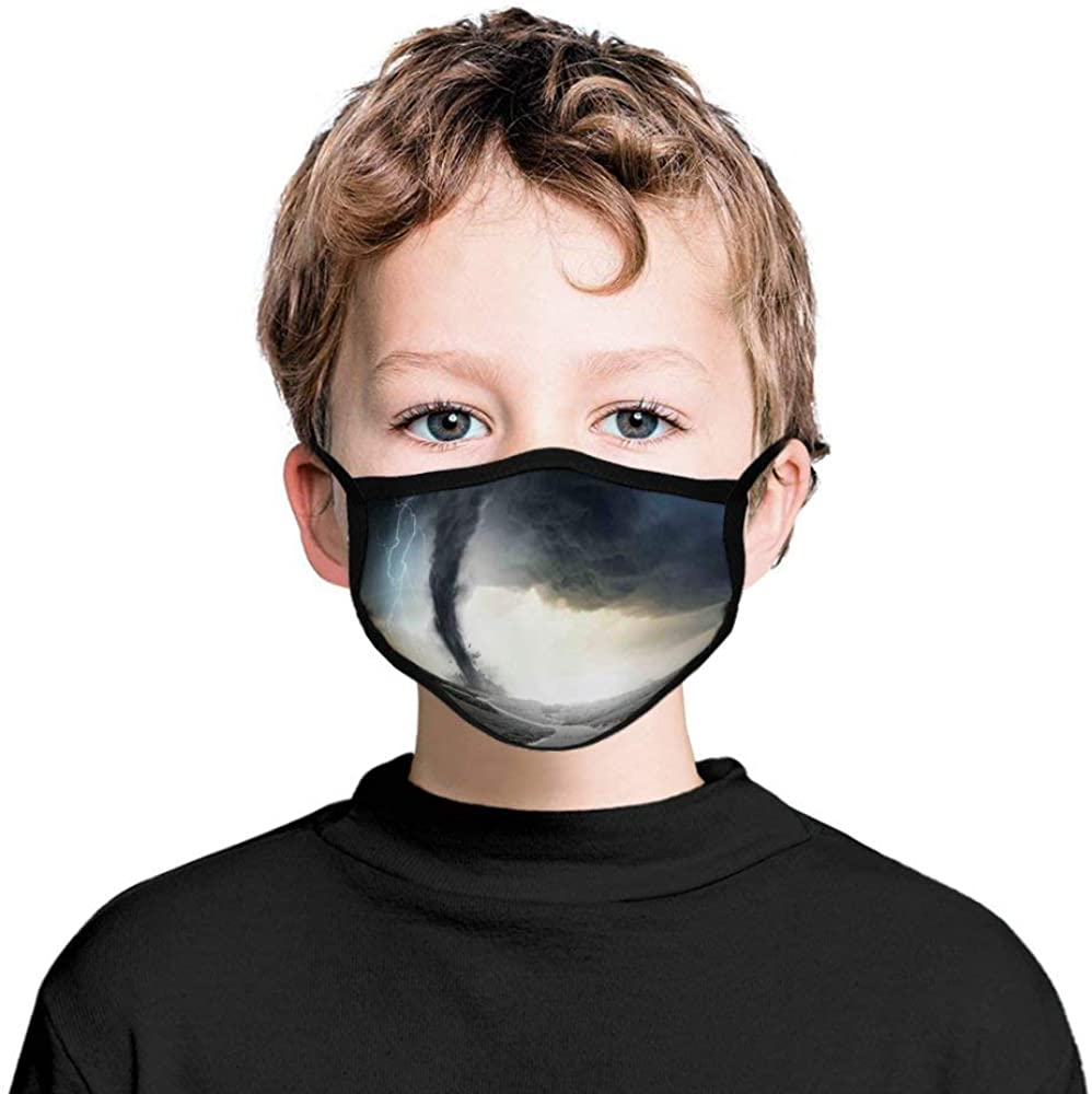 Roupaze Children Face Masks Rock Face Mouth Cover Balaclavas for Kids