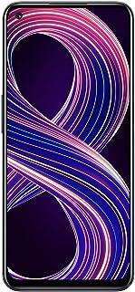 الهاتف المحمول Realme 8 5G ، أسود فائق السلاسة ، 90 هرتز ، بطارية ضخمة 5000 مللي أمبير/ساعة ، كاميرا المناظر الليلية 48 مي...
