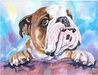 キャンバスアート壁ポスター ペットの犬 海报 绘画 帆布艺术 室内装饰 壁挂 墙壁海报 HD时尚海报