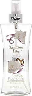 Body Fantasies Signature Body Mist for Women Wedding Day Fragrance 236ml   Long Lasting Body Spray and Perfume   No Gas (3...