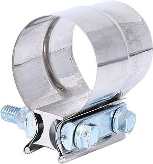 KESOTO Braçadeira da junta de exaustão de 7,6 cm para tubos de OD para ID, conexão do sistema de exaustão sem vazamentos a...
