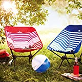 ALPHA CAMP Lightweight Camping Chair Portable Ultralight Compact Folding Camping Backpack Chair with...