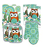 Mainstays 7 Piece Kitchen Set, Owl
