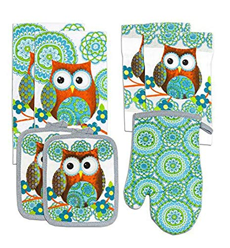 Top 10 Best Selling List for owl kitchen towels