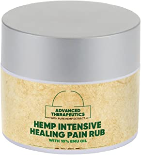 Pure Hemp Oil Combined with PURE EMU HEMP CREAM for FAST Arthritis Relief. Alleviate KNEE PAIN,BACK PAIN, SHOULDER PAIN and Hip P