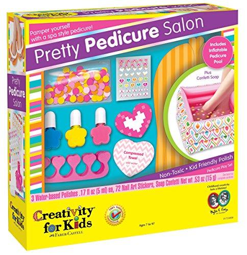 Creativity for Kids Pretty Pedicure Salon - Pedicure Party Play Set for Kids