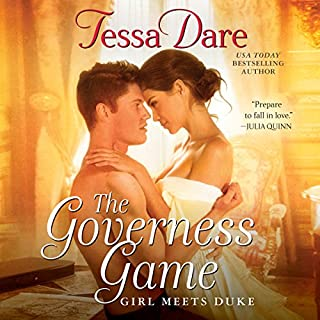 The Governess Game audiobook cover art