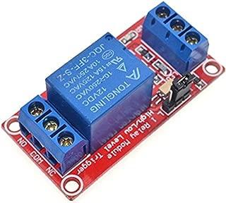 Demarkt Optokuplör 1-Kanal röle modül 12V Expansion Board yüksek ve düşük Trigger isteğe bağlı modülü
