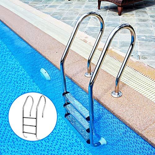 Hook.s Stufen für Schwimmbeckenleiter, rutschfeste Rutschleiter aus Edelstahl 304