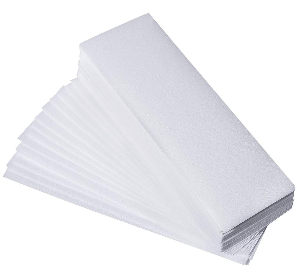 200 Pcs Wax Strips - Hair Removal Wax Strips Non Woven Facial & Body Wax Strips, Depilatory Paper Large Professional Non Woven Wax Strips