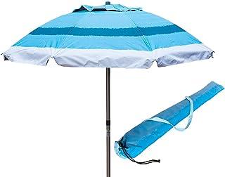 Decathlon Ombrelloni Da Spiaggia.Amazon It Metallo Ombrelloni Ombrelloni Tende E Tettucci Parasole Giardino E Giardinaggio