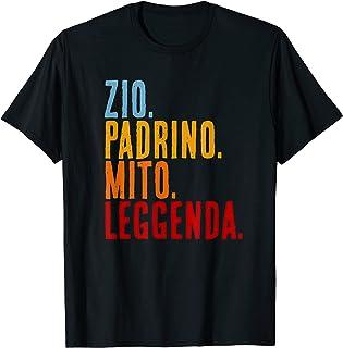 Zio Padrino Mito Leggenda Regalo padrini Maglietta