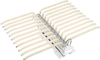 LVHC Cintres Pantalons Hanger Rangement Dressing Porte Porte Pantalons Extractible pour Rangement Dressing Coulissant Pant...