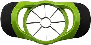 Choppan Handheld Stainless Steel Dicer Chopper Divider Apple Corer Fruit Slicer Peeler Lime Wedget, Green