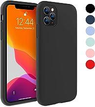 Fuleadture Funda iPhone 11 Pro MAX, Original Case Ultra Fina Líquido de Silicona Gel Carcasa Totalmente Protectora Resistente a los arañazos Caucho Suave Protectora Caso Cover Case para Apple 6,5