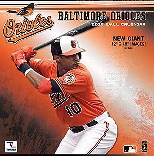 Baltimore Orioles 2016 Calendar