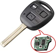 Beefunny Replacement Remote Car Key Fob 4C Chip for Lexus ES300 GS300 IS300 1998-2005 HYQ1512V Short Blade (1)