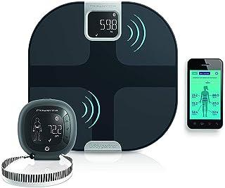Rowenta YD3091 Body Partner Shape Bilancia Pesapersone Wireless Smart Connessa al Cellulare, con Tracker per Misurazione d...