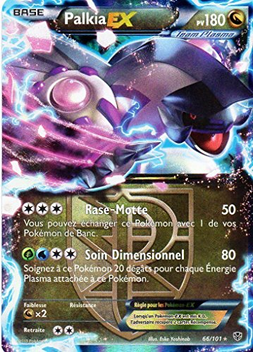 carte Pokémon 066/101 Palkia-EX 180 PV Série BW Explosion Plasma NEUF