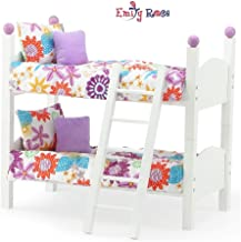 Emily Rose 14 Inch Doll Furniture | 2 Single Stackable 14