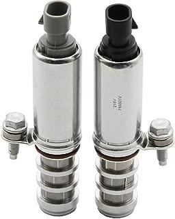 2 PCS Intake & Exhaust Camshaft Position Actuator Solenoid Control Valve 12655420 12655421 917-215 917-216 for GM Chevy Cobalt Malibu G5 G6 HHR Buick Pontiac 2.0L 2.2L 2.4L