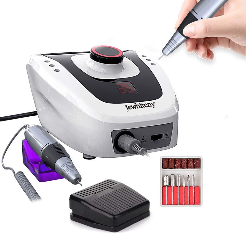 LUBANC 35000/20000 RPM, máquina eléctrica de Taladro de uñas, manicura y pedicura con 6 Brocas de Corte, Kit de manicura y Accesorios: Amazon.es: Deportes y aire libre