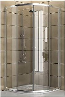 Cabina de ducha de Clara de cristal de seguridad/Real ducha de cristal/90X 90X 190cm/Ducha cabina/Cuadrante/Mampara/Modelo fugo de cuarto circular (/Oferta
