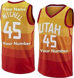 LaBiTi Customizable Basketball Ball Suit Men's Basketball Shirt Shorts Jersey, Custom Name/Team Number Sports Shirt, Basketball Fan Gift, School Ball Suit Custom
