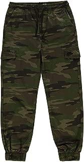 No Fear Junior Boys All Over Camo Print Trousers