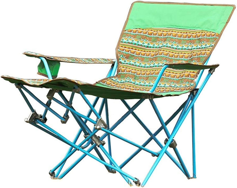 RUIMA Zusammenklappbarer Campingstuhl mit hoher Rückenlehne, Bequeme, robuste Struktur, max.