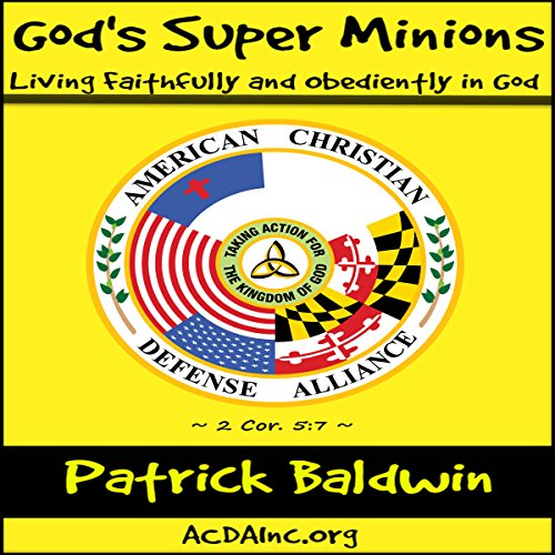 God's Super Minions audiobook cover art