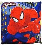 alles-meine.de GmbH Kissen / Schmusekissen / Sitzkissen -  Ultimate Spider-Man  - Kuschelkissen - 35...